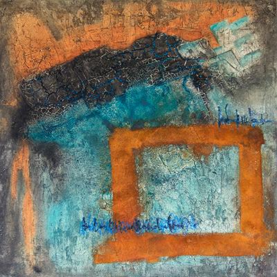 Ingrid Studer FineArt | Abstrakte Malerei | Depht