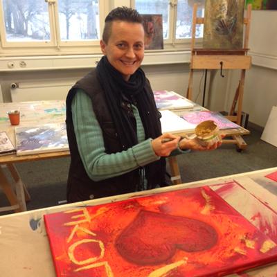 Ingrid Studer FineArt | Kreativ-Tag | Kursteilnehmer | Beate K.
