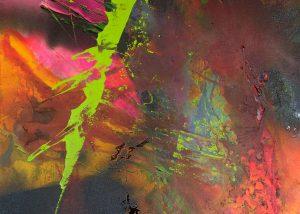 Ingrid Studer Fineart | Abstrakte Malerei | Lovely Green