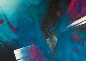 Ingrid Studer Fineart | Abstrakte Malerei | Pink Fantasy