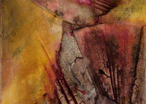 Ingrid Studer Fineart | Abstrakte Malerei | Rote Wüste
