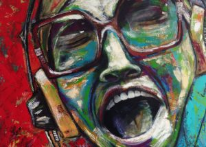 Ingrid Studer Fineart | Portraits | The Singer