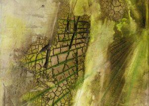 Ingrid Studer Fineart | Abstrakte Malerei | Grüne Wüste